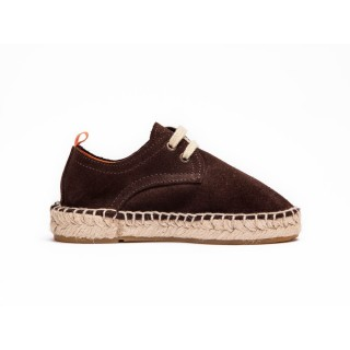 Blucher piel chocolate nio