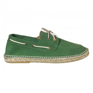 Men's green 768 Leather Deck shoe