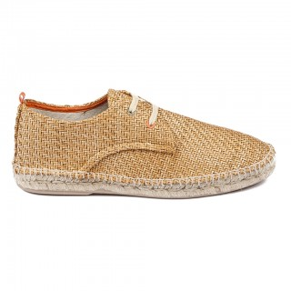 Men's Camel 17 Raffia Blucher