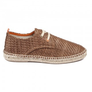Men's Brown 17 Raffia Blucher