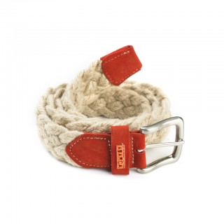 English Red jute belt