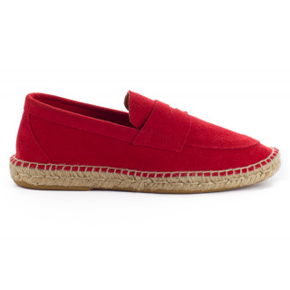 Men's red 17 Leather Loafer