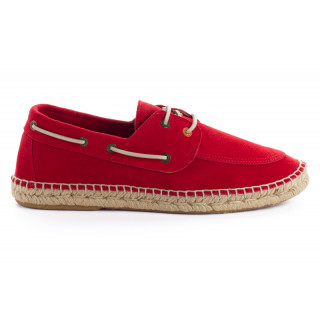 Men's Red 556 Leather Deck shoe