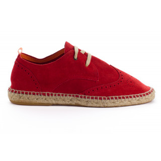 Men's red 556 Leather Oxford