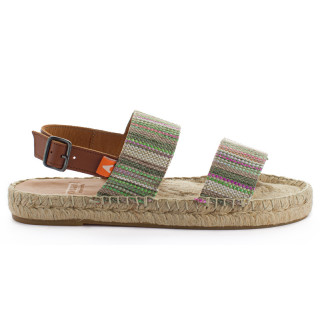 Green Pascale Mayoral jute sandals