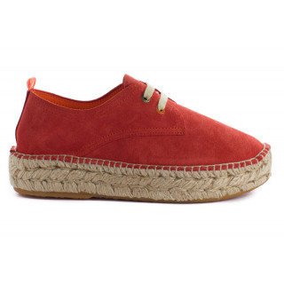 copy of Women's red 17 Leather Blucher