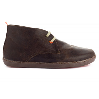 Men's leather Taupe Boot
