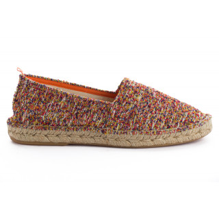 L'espadrille camping Farese rouge pour homme