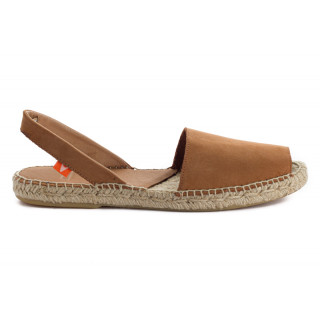 Brown Leather Menorcan sandals