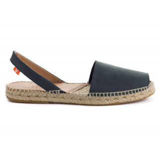 Navy Leather Menorcan sandals