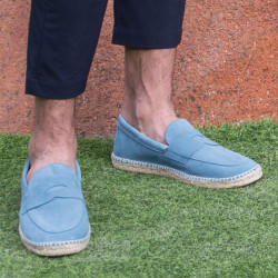Men's loafers-type espadrille