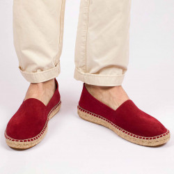Men's Leather Camping-type espadrilles