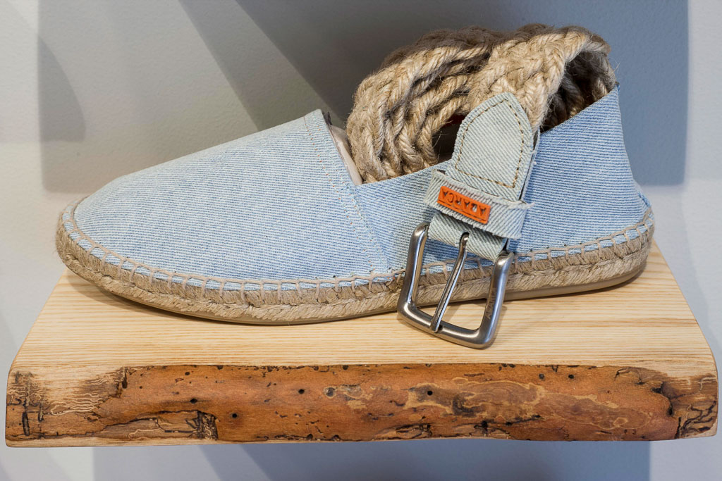 Espadrilles cleaning and care